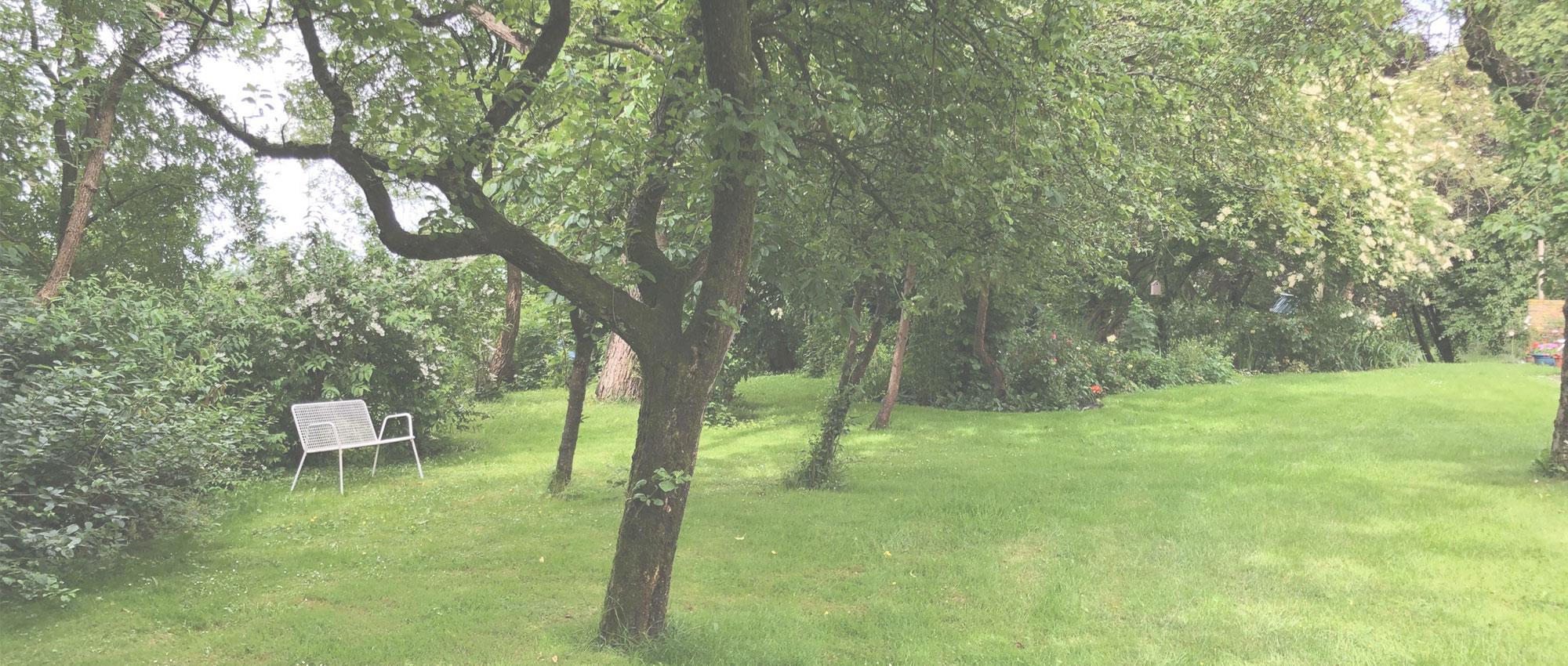 Gulfhof Fahnhusen Garten