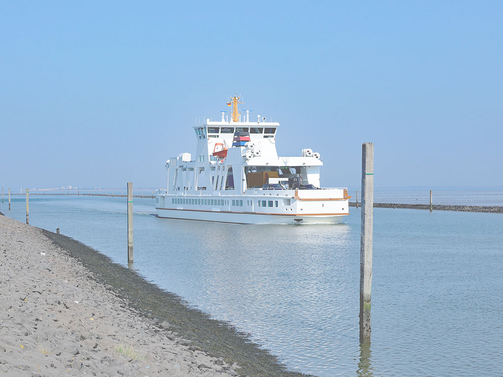 Schiff auf der Nordsee